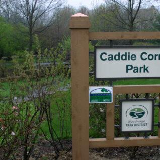 Caddie Corner Park entrance