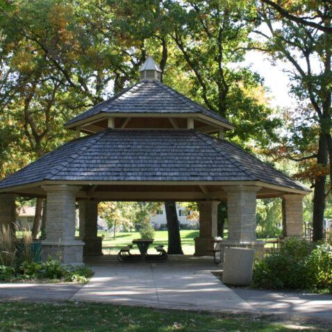gazebo park shelter