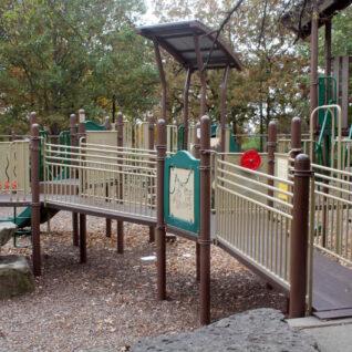 playground elevated path