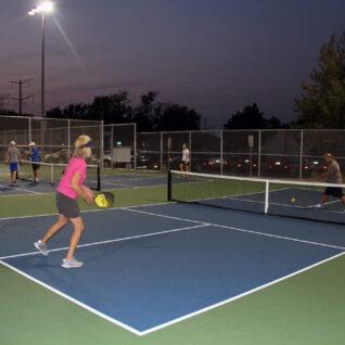 night tennis