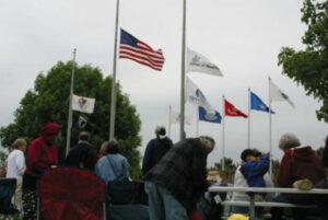 memorial gathering