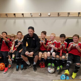 soccer team group photo