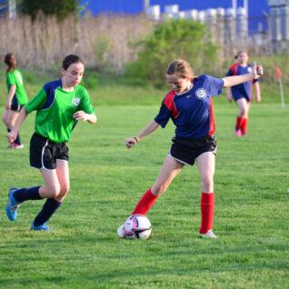Stealing the soccer ball